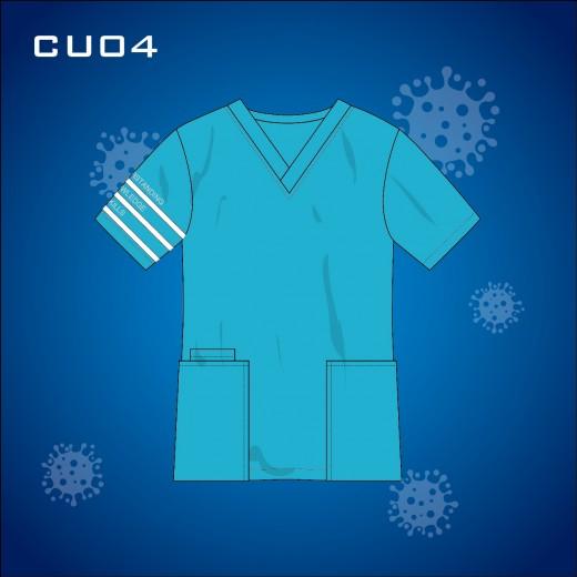 Schontex Ladies Bamboo Charcoal Clinic Uniform