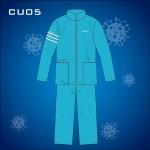 Schontex Mens Bamboo Charcoal Clinlic Uniform (Choose your favorite color)