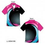 Sublimation Print Bowling Shirt