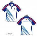 Sublimation Print Badminton Shirt