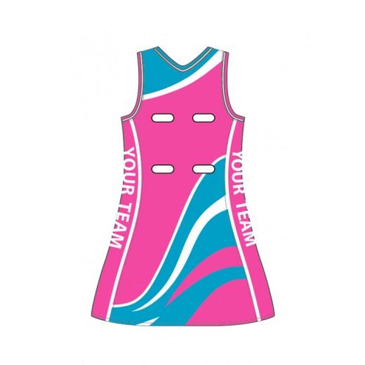 Sublimation Print A-Line Dress