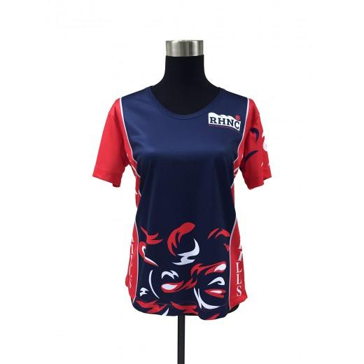 Customised Sublimation Round Neck Netball Shirt