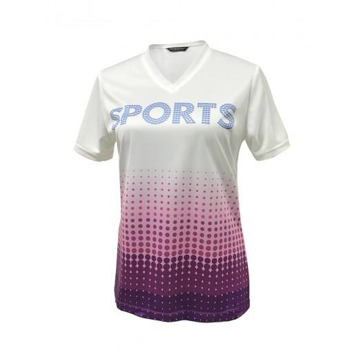 Ladies Bamboo Charcoal Sport T-shirt
