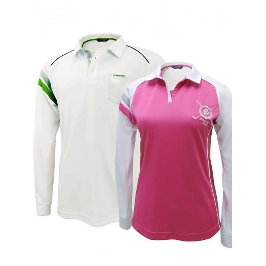 Golf Couple Set 1: Bamboo Charcoal Longsleeve Polo shirts