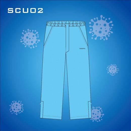 Schontex Clinic Bamboo Charcoal Scrub Trousers